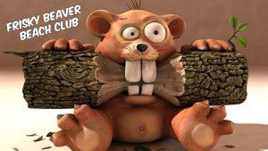 Frisky Beaver Beach Club Party